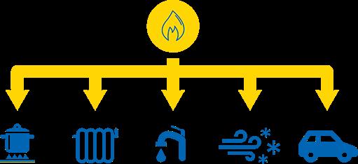 Zemeljski plin je vsestransko uporaben